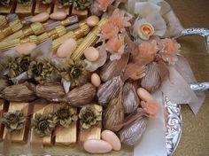 Wedding chocolate arrangements