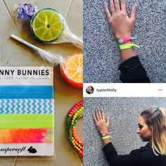 FUNNYBUNNIES -hairbands meets #typischlolly ❤️! #armcandy #armparty #FUNNYBUNNIES #hairband #frisur