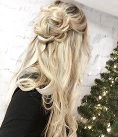 half up flower bun hairstyle romantic hairstyles braided hair ideas