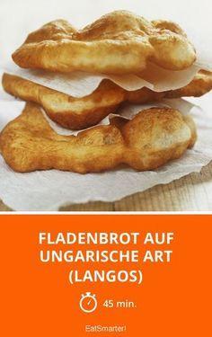 Fladenbrot auf ungarische Art (Langos) - smarter - Zeit: 45 Min.   eatsmarter.de