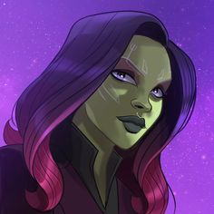 Gamora my bae. Russo's confirmed something about her character btw for avengers 4 possibly Marvel Comics, Comics Anime, Marvel Memes, Marvel Avengers, Captain Marvel, Drawing Cartoon Characters, Character Drawing, Marvel Characters, Gamora Marvel