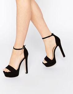 Image 1 ofASOS HICKORY Heeled Sandals