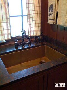 Available now stainless steel sink in a copper finish oil rubbed copper undermount kitchen sink workwithnaturefo