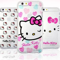 Genuine Hello Kitty Jelly Case iPhone 6/6S Case iPhone 6/6S Plus Case 5 Types #HelloKitty