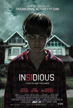 Insidious - one super scary movie.  I prefer horror movies like this one that doesn't resort to all kinds of gore.  It just relies on good storytelling. Confira os nossos artigos dedicados aos Filmes de Terror em http://mundodecinema.com/category/filmes-de-terror/