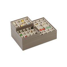 Mink Mini Stackers™ Premium Jewelry Storage | The Container Store