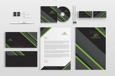 Corporate Stationery Pack by BettyDesign on https://creativemarket.com/BettyDesign/639431-Corporate-Stationery-Pack