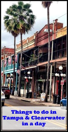 Tampa and Clearwater on our Deep South USA road trip - things to do in Tampa and things to do in Clearwater in a day Visit Florida, Florida Living, Florida Vacation, Florida Travel, Vacation Trips, Vacation Spots, Vacations, Florida Trips, Vacation Destinations