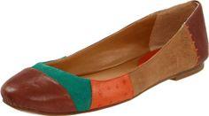 "Amazon.com: Women's Nine West Flats ""Persuademe"" - Brown Multi: Shoes"