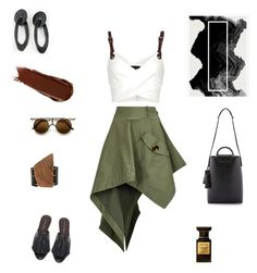 Hic Sunt Leones by futuraocculto on Polyvore featuring polyvore, fashion, style, Barbara Bui, Monse, ZeroUV and clothing