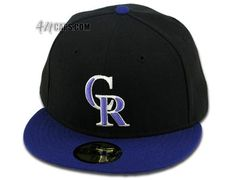 Colorado Rockies 2006 Alternate 59Fifty Fitted Baseball Cap by NEW ERA x MLB