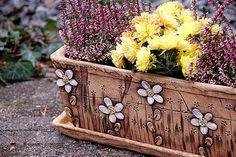 truhlík - kopretinový- na objednávku!!! / Zboží prodejce lavender | Fler.cz Planter Pots, Lavender, Vases