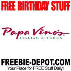 ►► BIRTHDAY FREEBIE - Papa Vino's ►► #BDay, #BirthdayFreebie, #FreeBirthdayStuff, #Frugal, #HappyBirthday ►►