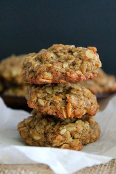 ... Oatmeal, Healthy Oatmeal Cookies and Oatmeal Chocolate Chip Cookies