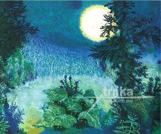 Jiří Trnka - Zahrada / The Garden Brooklyn Botanical Garden, Botanical Gardens, Winter Fairy, Children's Book Illustration, Animation Film, Whimsical Art, Four Seasons, Van Gogh, Illustrators