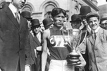 Hopi Lewis Tewanima, Olympian athlete, 1911