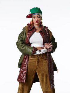 Rihanna (06/02/2021 for VOGUE the production was made by Rihanna and her team and companies #rihanna #fenty #savagexfenty #badgalriri #riri #fentybeauty #fentyskin #fashion #vogue Rihanna Vogue, Rihanna Fenty, Rihanna Fashion, Rihanna Outfits, Rihanna Style, Rihanna Photoshoot, Stage Outfits, Casual Outfits, Fashion Line
