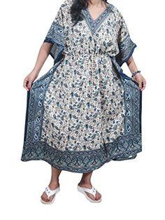 Mogul Moroccan Kaftan Maxi Dresses Paisley Blue Caftan Nightgown Holiday Gift Mogul Interior http://www.amazon.com/dp/B012APVNSA/ref=cm_sw_r_pi_dp_Ok16vb02GNMEC