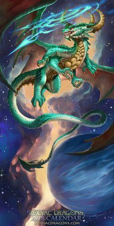 2018 Zodiac Dragon Sagittarius - http://www.zodiacdragons.com/
