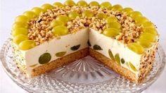 Творожно-фруктовый торт без выпечки. Насладитесь вкусом этого нежного, легкого и очень красивого торта!