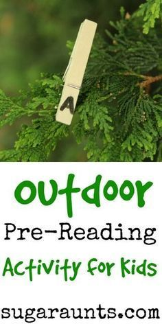 Pre-Reading Activity for New Readers Outdoor Scavenger Hunt for Pre-readers. This is a fun literacy activity to do outside. From Sugar AuntsOutdoor Scavenger Hunt for Pre-readers. This is a fun literacy activity to do outside. From Sugar Aunts Preschool Literacy, Literacy Activities, Outside Activities, Letter Activities, Educational Activities, Outdoor Activities, Kindergarten Learning, Toddler Learning, Forest School Activities