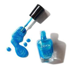 Zoya in Summer is from the Dreamin' collection and can best be described as a mermaid shimmer featuring flashes of green and gold with a blue base. Summer Nail Polish, Zoya Nail Polish, Summer Nails, Spray Bottle, Essie, Green And Gold, Coupon Codes, Nail Colors, How To Apply