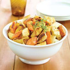 Honey-Roasted Root Vegetables