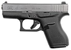 GLOCK 42 .380ACP FS 6-SHOT BLACK