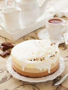 Three Chocolate Cake