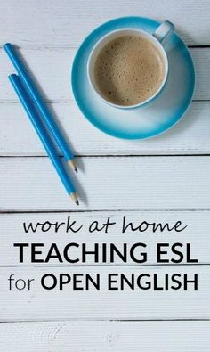 Work at home tutoring English as a second language to students for Open English. Work From Home Jobs, Make Money From Home, Way To Make Money, Make Money Online, Home Teaching, Home Based Business Opportunities, Online Job Search, Statements, Money Matters