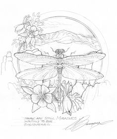 Bergsma Gallery Press::Paintings::Originals::Original Sketches::2011/ Journey to Paradise - Original Sketch