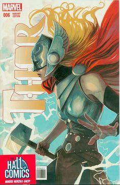 Marvel- Thor #6 Women of Marvel & Inhumans 50th Anniversary Variants + Reg Cover