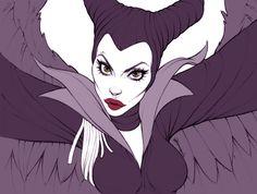 Angelina Jolie - Maleficent by andersonmahanski.deviantart.com on @deviantART