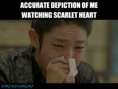 omg! 1000000% accurate this drama was so good. Still can´t get over #ScarletHeart and #LeeJoonGi performance