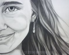 Custom Portraits Drawn in Charcoal  11X14 by HiDBDesigns on Etsy $230