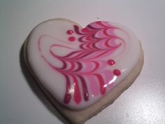 The Plaid Cookie Company: Marbling with cookie frosting