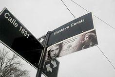 Calle Gustavo Cerati