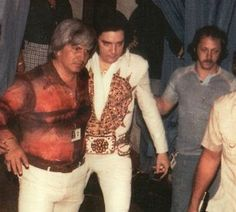 "Billy Smith (right) with Elvis: ""EIN: Dr Nick is the most famous person to blame for Elvis' drug problems, but there were plenty of other Doctors too. What is your opinion of Dr Nick, good or bad?  Billy: Dr. Nick tried to help Elvis. Elvis was a strong willed person, and he did exactly what he wanted to do, in most cases. In my opinion Dr. Nick was good."""