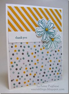 by LeAnne: Flower Shop & its punch, Teeny Tiny Wishes, Moonlight dsp stack, & more. All supplies from Stampin' Up!