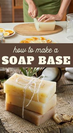 We provide instructions, tips, pros & cons, and supplies to help you decide which soap base process is best when you make your own soap at home. Ways to Make a Soap BaseA Fresh-Squeezed Life afreshlif Diy Savon, Savon Soap, Lye Soap, Castile Soap, Glycerin Soap, Soap Molds, Homemade Soap Bars, Homemade Soap Recipes, Homemade Chips