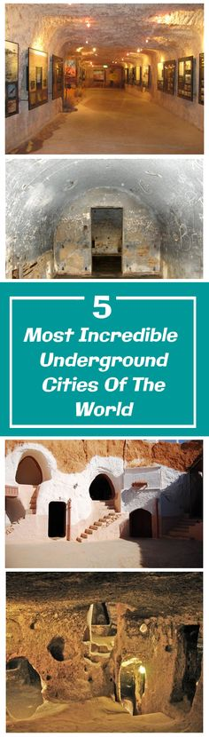 Underground Cities of the World
