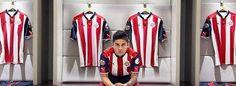 Nueva Camiseta Chivas de Guadalajara 2017 baratas