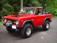 1970 Ford Bronco..