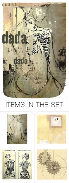 """""""Double down on DADA"""" by ellathrasha ❤ liked on Polyvore featuring art"""