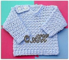 Craft Passions: CROCHET FREE PATTERN  Kodi's Cosy V_Neck Sweater  ...
