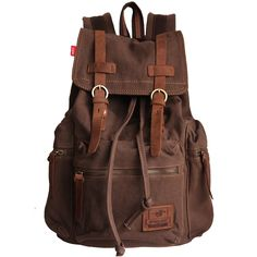 Free shipping Vintage Canvas Backpack Rucksack mountaineering book backpack school backpack b1039