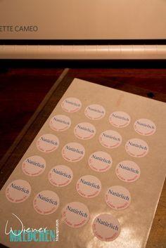Wiener Mädchen: Sticker anfertigen