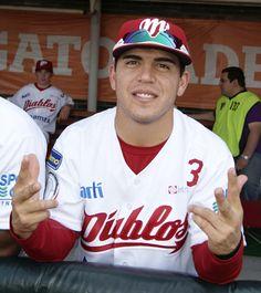 """Leo Heras """"súper boy"""" @Diablos Rojos del México"""