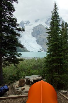Camping @ Berg Lake Campground (by Feffef)