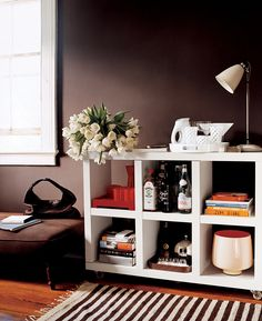 unbelievable new uses for a bookshelf on domino.com